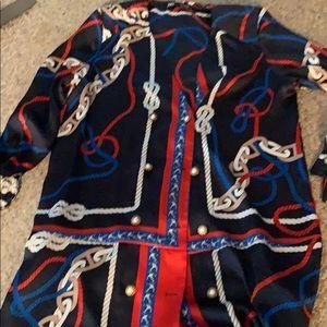 Zara Dresses - NWOT Zara dress nautical v neck dress L